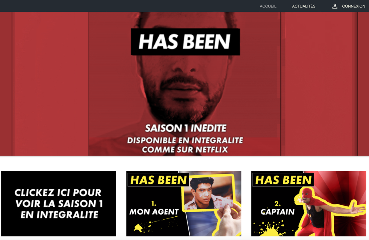 plateforme de streaming vidéo VOD monetisation SVOD AVOD OTT comedie Youtuber influencer