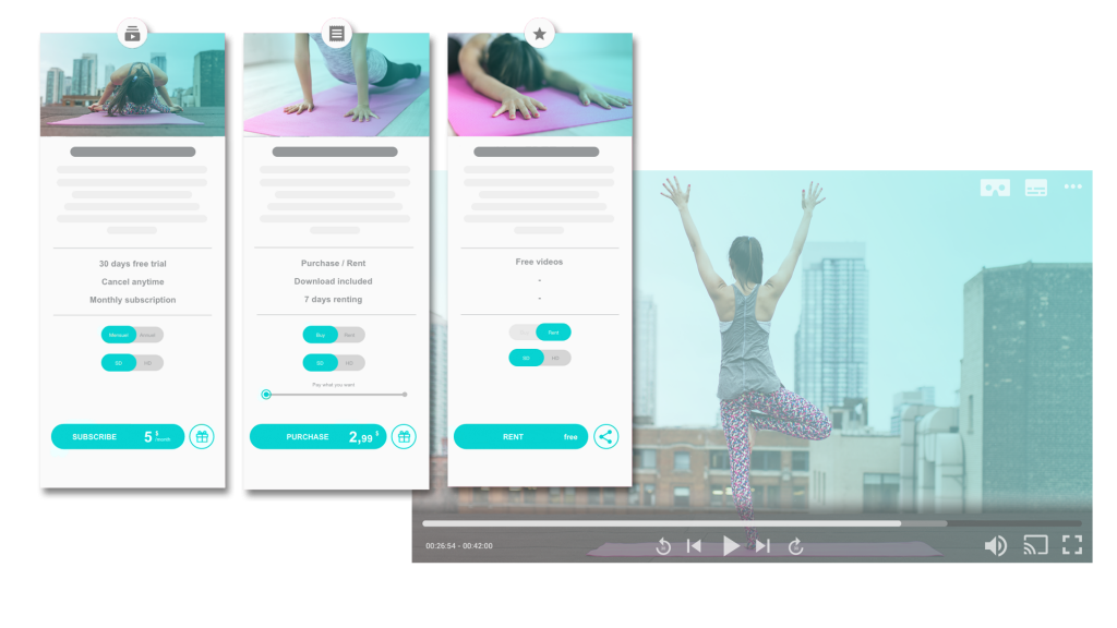 plateforme de streaming vidéo VOD monetisation SVOD AVOD OTT