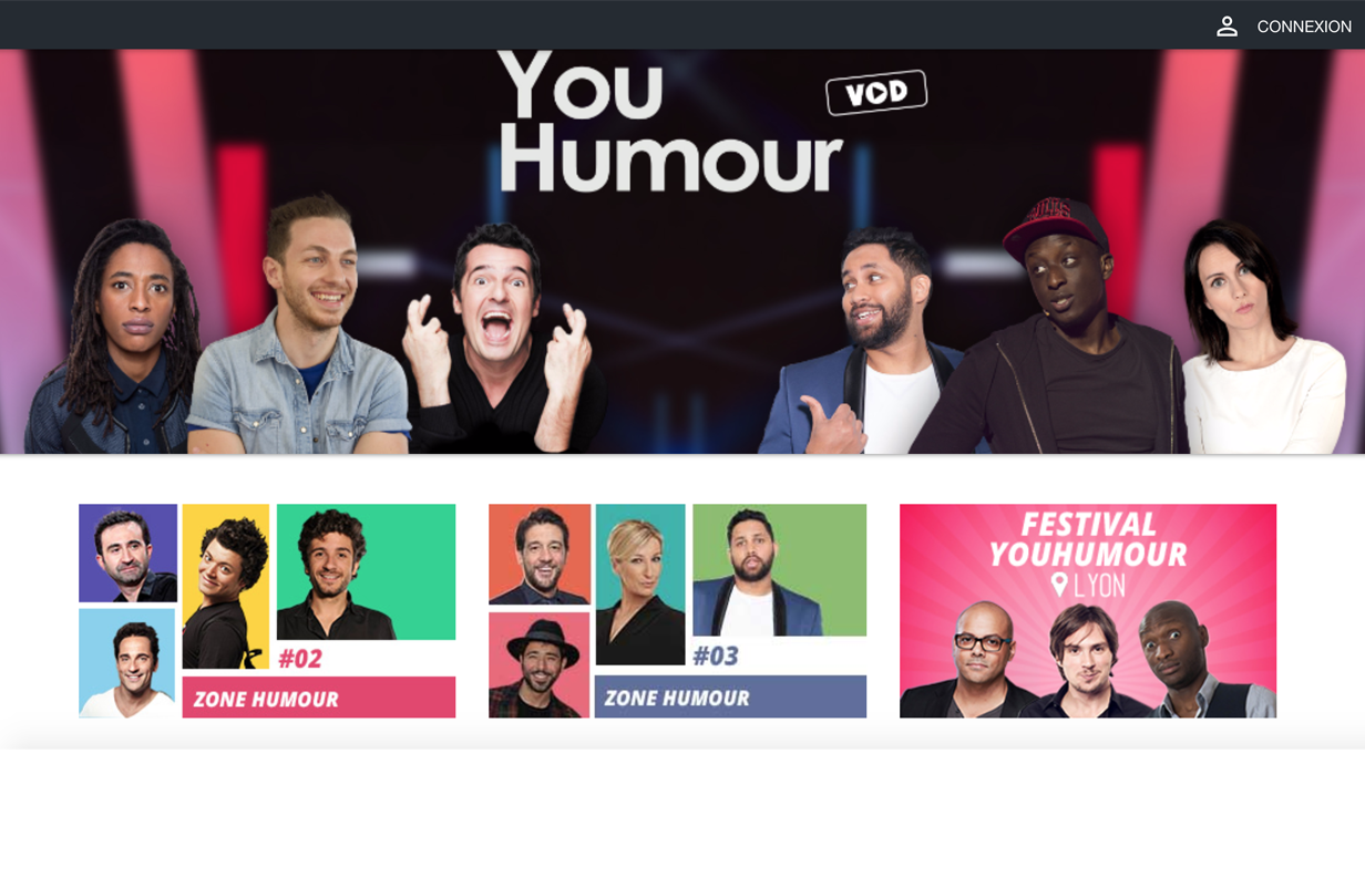 plateforme de streaming vidéo VOD monetisation SVOD AVOD OTT comedie humour