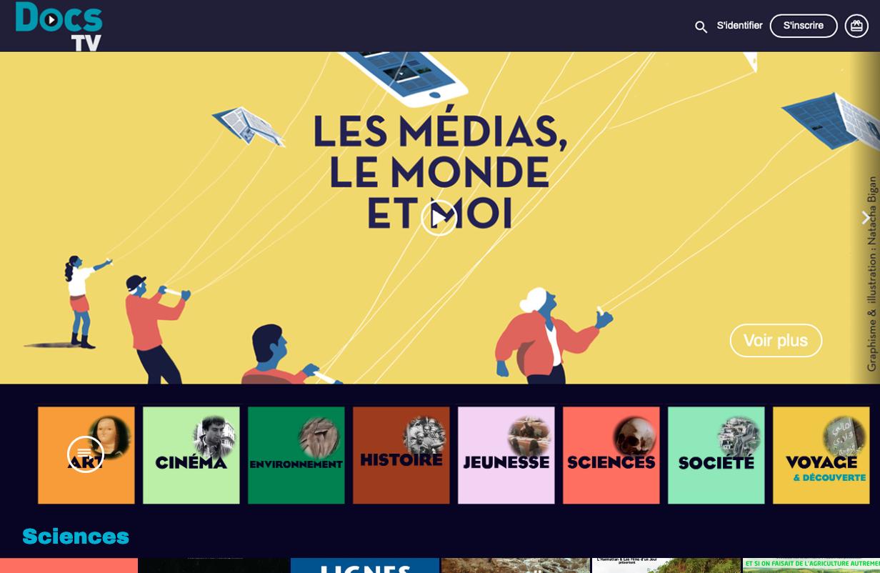 plateforme de streaming vidéo VOD monetisation SVOD Documentaires OTT