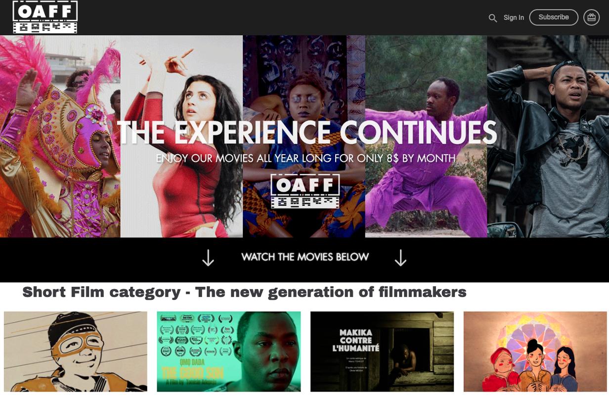 plateforme de streaming vidéo VOD monetisation SVOD AVOD OTT Africa film series content